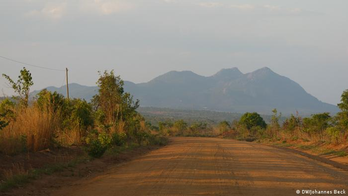 Straße von Mandimba nach Lichinga
