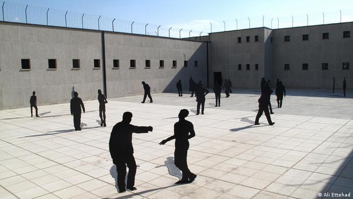 Iran Bildergalerie Ausstellung im Qasr-Gefängnis in Tehran (Ali Ettehad)
