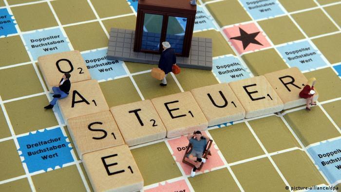 Symbolbild Steueroase