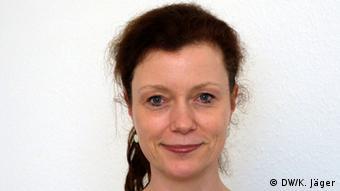 Dr.med. Katrin Imbierowicz, leitende Oberärztin der Klinik und Polyklinik für Psychosomatik und Psychotherapie an der Uniklinik Bonn. Foto: Karin Jäger/ DW, 03.04.2013.
