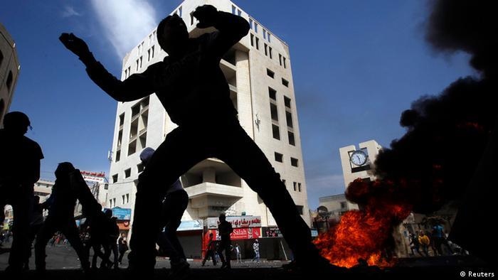Violencia en Gaza.
