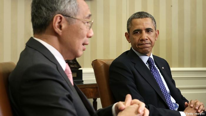 两难立场很尴尬?新加坡总理罕见提中美