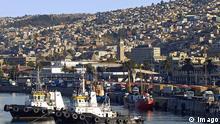 Chile Hafen von Valparaiso