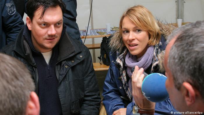Charly Hübner und Anneke Kim Sarnau im Polizeiruf 110