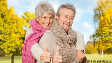 Symbolbild Mann und Frau positiv