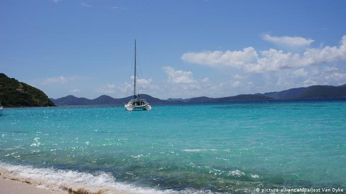 A picture of a beach on the British Virgin Islands (Photo: Jost Van Dyke)