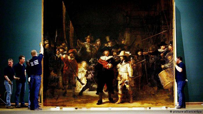 Rembrandt Gemälde Die Nachtwache (picture-alliance/dpa)
