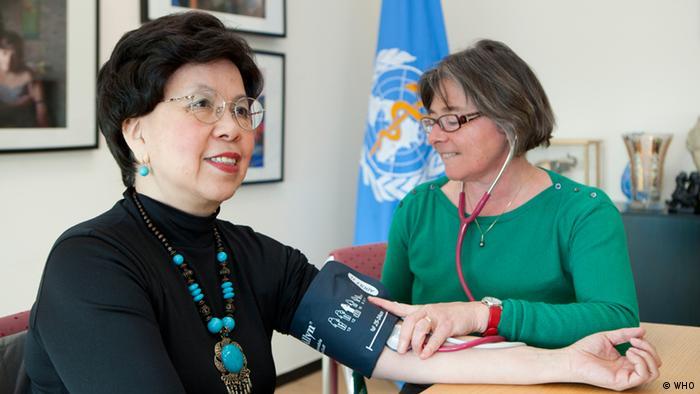 Weltgesundheitstag Thema Bluthockdruck Margaret Chan