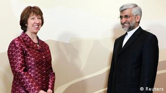 Saeed Jalili, Iran, Catherine Ashton