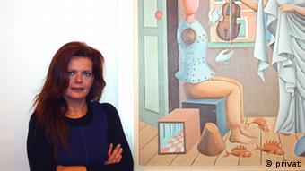 Maria Giannakaki, Abgeordnete in Griechenland @privates Bild
