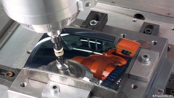 Integrierte Industrie: Polierroboter