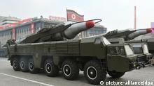 Nordkorea Rakete Militärparade ARCHIVBILD 2010