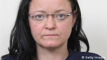ALTERNATIV GESCHNITTEN: KARLSRUHE, GERMANY - DECEMBER 01: (EDITOR'S NOTE: Quality from source). Neo-Nazi Beate Zschaepe, who is currently in police custody, is pictured in this handout photo taken in 2011 and provided by the Federal Criminal Office on December 1, 2011 in Karlsruhe, Germany. German investigators are appealing to the public for information about Zschaepe, as well as fellow neo-Nazis Uwe Boehnhardt and Uwe Mundlos. The two men, who committed suicide in November following a bank robbery, are credited with a string of murders of foreigners and a policewoman between 2000 and 2007 and are though to be part of an organization called the National Socialist Underground (NSU). (Photo by Federal Criminal Office via Getty Images)