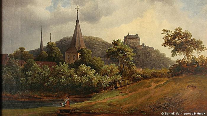 Картина Эрнста Хельбига (Ernst Helbig) из собрания Schloß Wernigerode® GmbH