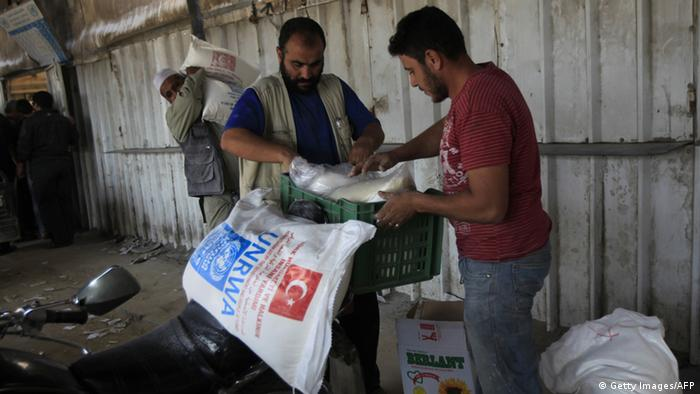 NGO im Gazastreifen UNRWA Hilfsorganisation Gaza