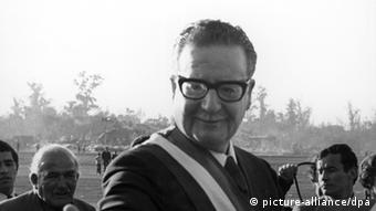 Salvador Allende ehemaliger Präsident Chile (picture-alliance/dpa)