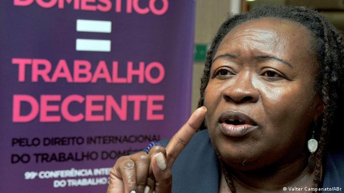 Brasilianischen Gesetze für Putzfrau - PEC das Domésticas