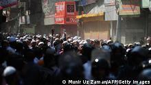 Dhaka Protest gegen Blogger