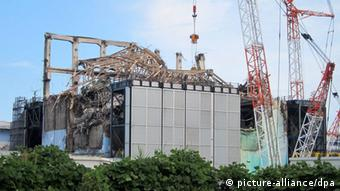 The No. 3 reactor building at Fukushima Daiichi nuclear power plant in Fukushima prefecture, northeastern Japan (Photo: EPA/TEPCO/ HANDOUT)