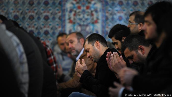 Gebete in Bulgarien Wirtschaftskrise