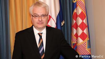 Der kroatische Präsident Ivo Josipovic (Foto: Martina Maračić)