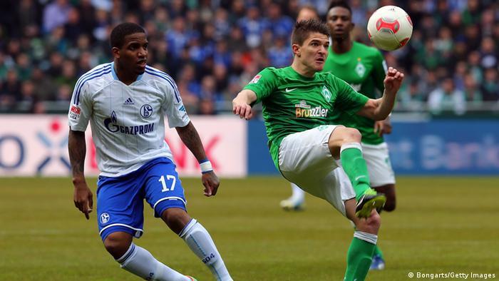 Der FC Schalke gewinnt verdient gegen Werder Bremen und hofft weiter auf die Champions-League-Teilnahme. (Foto: Getty Images)