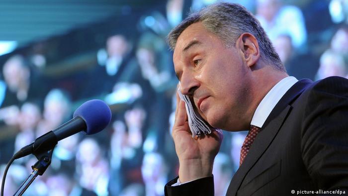Milo Djukanovic Premierminister Montenegro