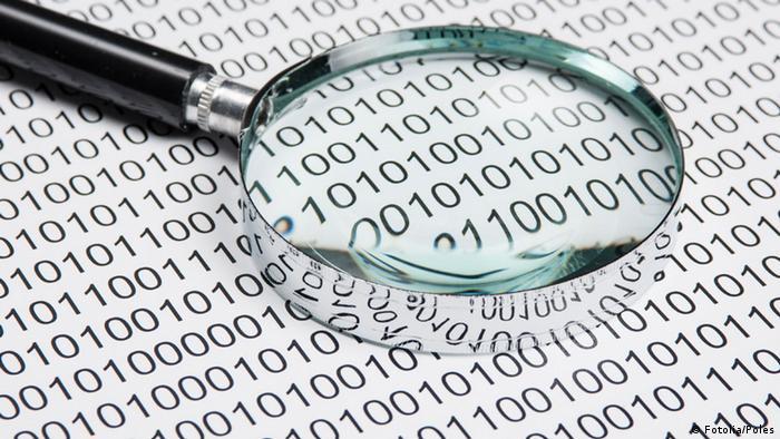 Symbolbild Daten Datenschutz, Datenklau Datenentschlüsselung