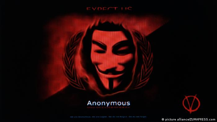 Symbolic picture of group Anonymous
