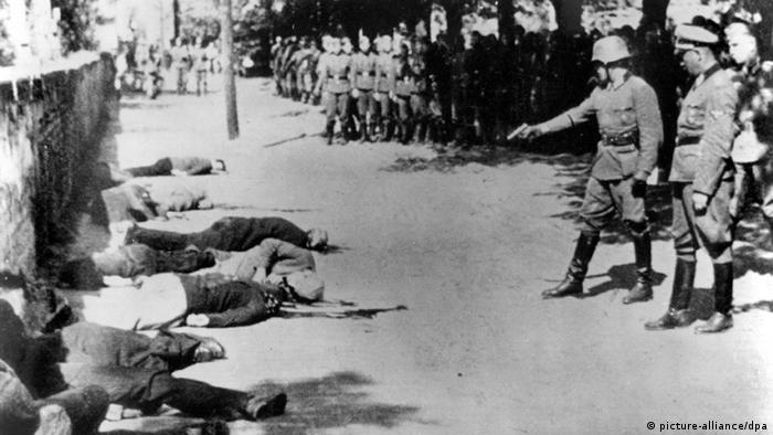Oficial alemão mata reféns na cidade sérvia de Pancevo, próxima a Belgrado, em 1941