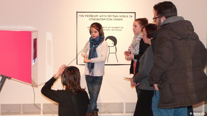 Young visitors at Berlin's Jewish Museum