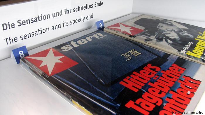 Capa da Stern sobre diários falsos de Hitler