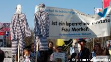 Demo Putin Besuch in Hannover