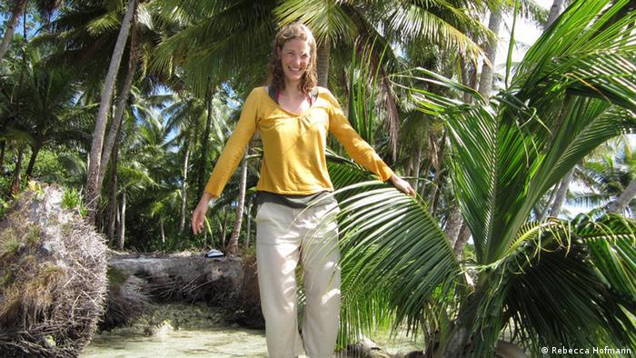Student Rebecca Hofmann