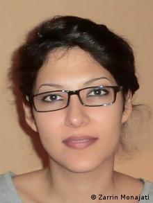 Student Zarrin Monajati