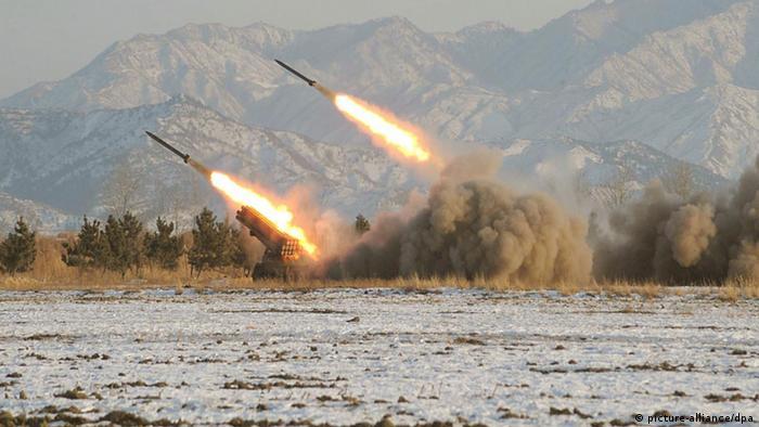 Raketentests in Nordkorea (Foto: DPA)