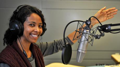 Deutsche Welle 60 Jahre Lidet Abebe. Multimediadirektion REGIONEN, Afrika - Amharisch. Foto: DW/Per Henriksen 08.04.2013 _DW37776.