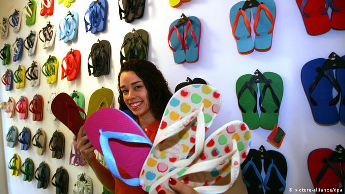 Berlin store selling brightly colored sandals