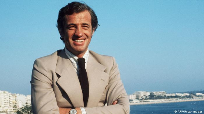 Jean Paul Belmondo, 1974 yılında Cannes Film Festivali'nde