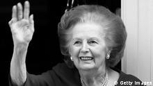 Margaret Thatcher SCHWARZWEISS