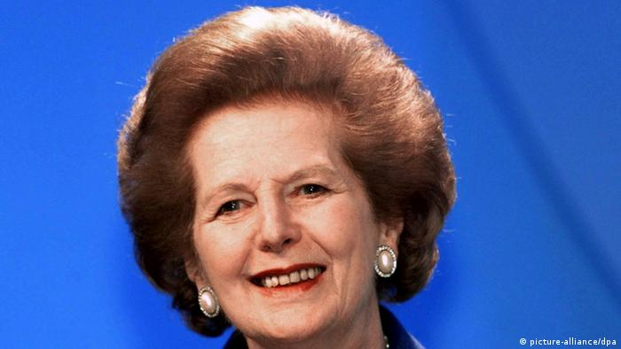 Bildergalerie Margaret Thatcher Archiv 06.10.1999 (picture-alliance/dpa)