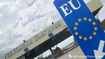 Grenzübergang Bulgarien-Türkei (Foto: dpa)