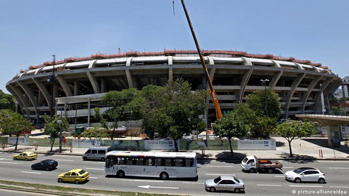 Maracena Fussballstadion in Rio de Janeiro (picture-alliance/dpa)