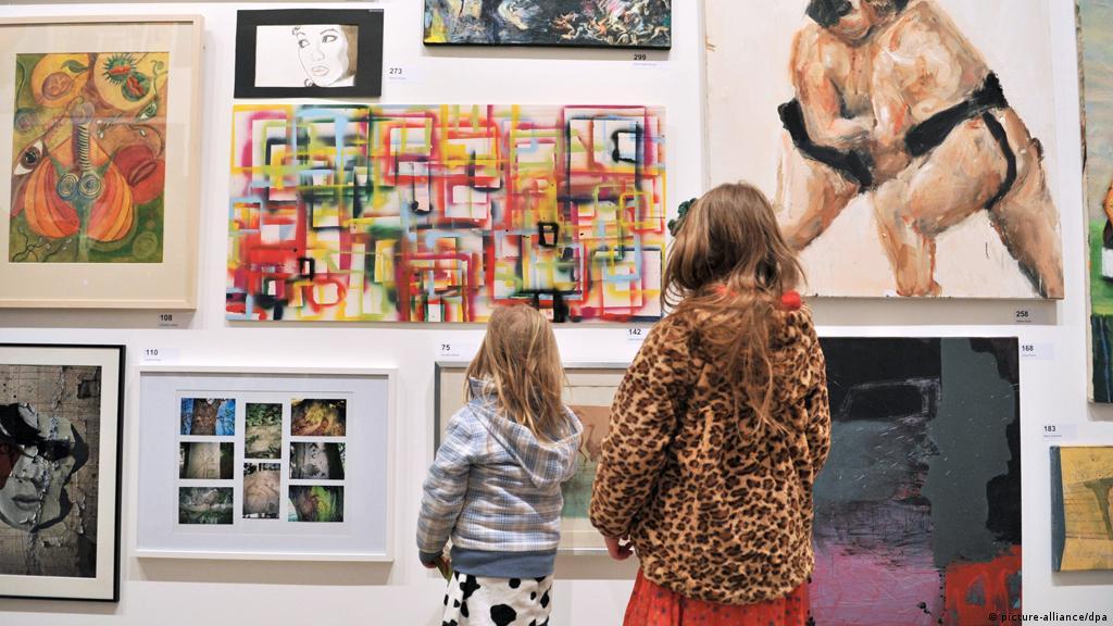 Kunst Im Daf Unterricht Eine Unterrichtsreihe Unterrichtsreihen Dw 23 05 2016