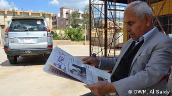 Retired employee, Osman Ahmed Hussein ,Sulaymaniyah, Iraq. Iraq, Sulaymaniyah, Apr,7,2013.