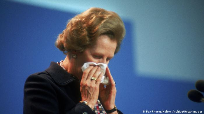 Margaret Thatcher, en octobre 1984