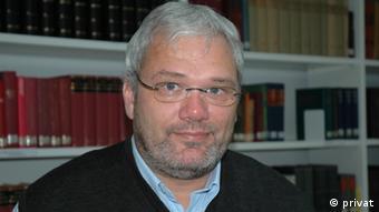 Pfarrer Martin Bräuer, Catholica-Referent des konfessionskundlichen Instituts in Bensheim *** undatiertes privates Bild