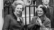 Bildergalerie Margaret Thatcher Archiv 22.03.1982