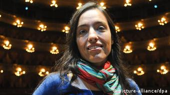 The stage director Valentina Carrasco