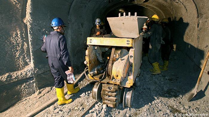 Урановый рудник в иранском Сагханде